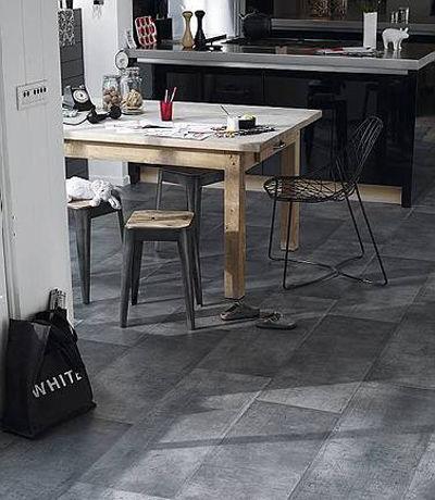 Tendances cuisine les mat riaux suivre pour relooker sa cuisine - Sol vinyle pour cuisine ...