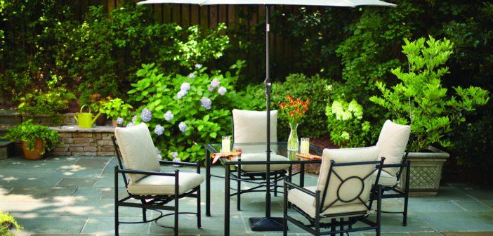 Une terrasse accueillante pour mieux vendre