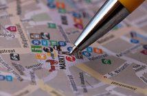 plan ville crayon